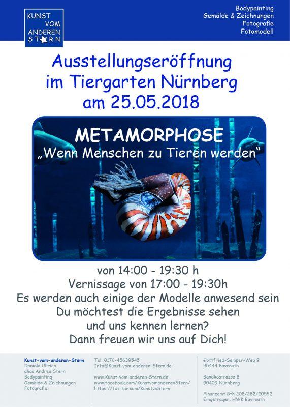 Vernissage / Ausstellungseröffnung am 25.05.2018 im Tiergarten Nürnberg