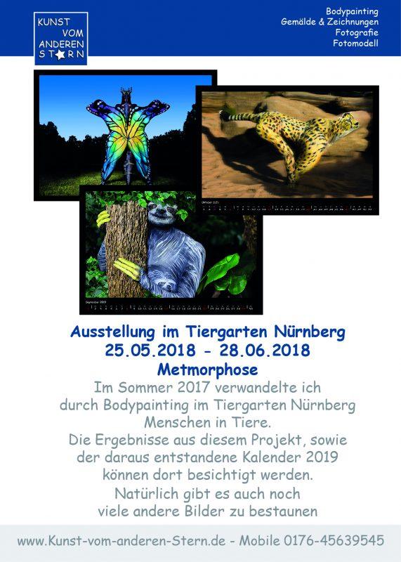 Ausstellung vom 25.05. – 28.06.2018 im Tiergarten Nürnberg
