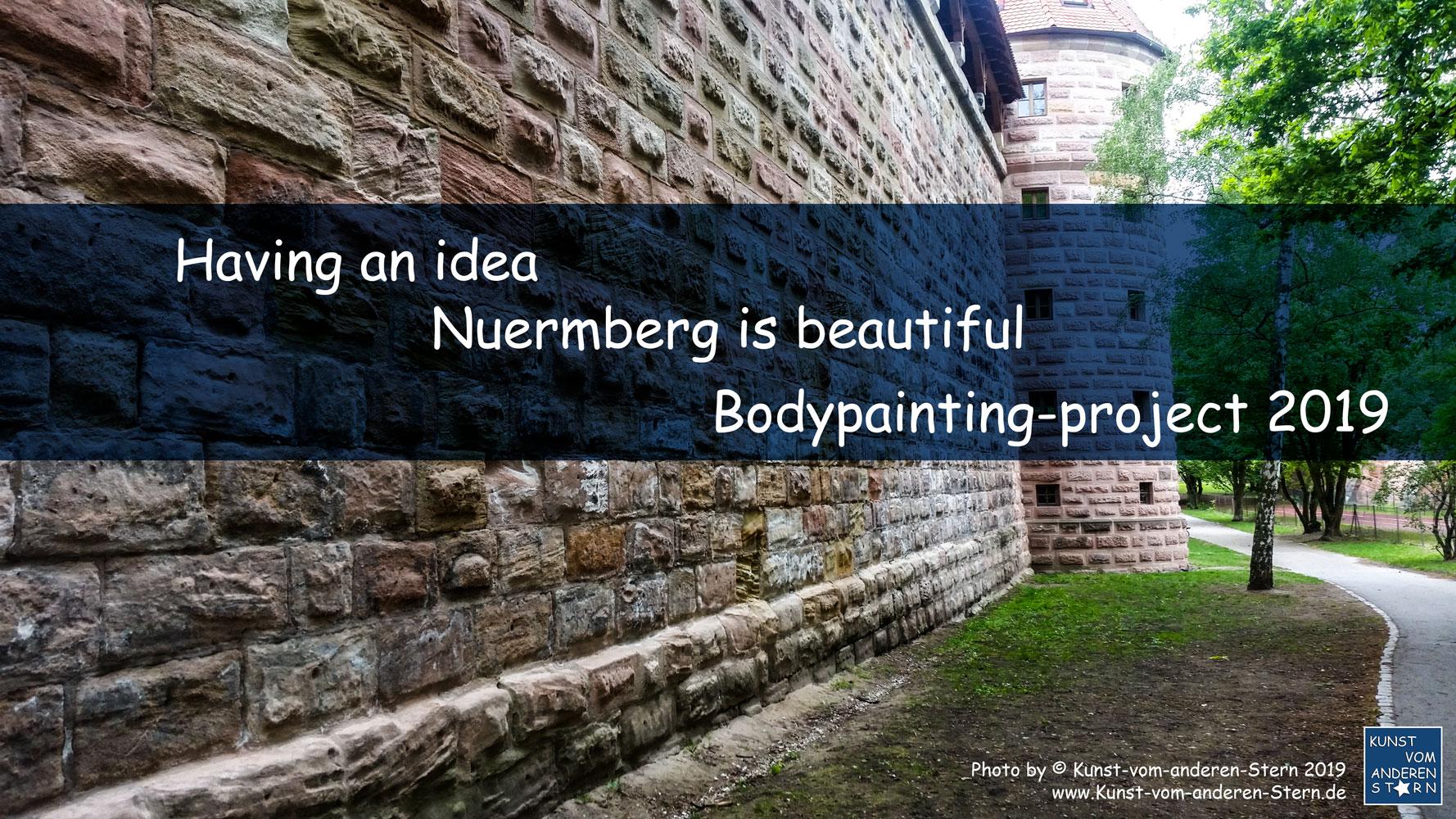 Stadtchamäleons – Bodypainting-Projekt Nürnberg 2019 – Die Idee dahinter