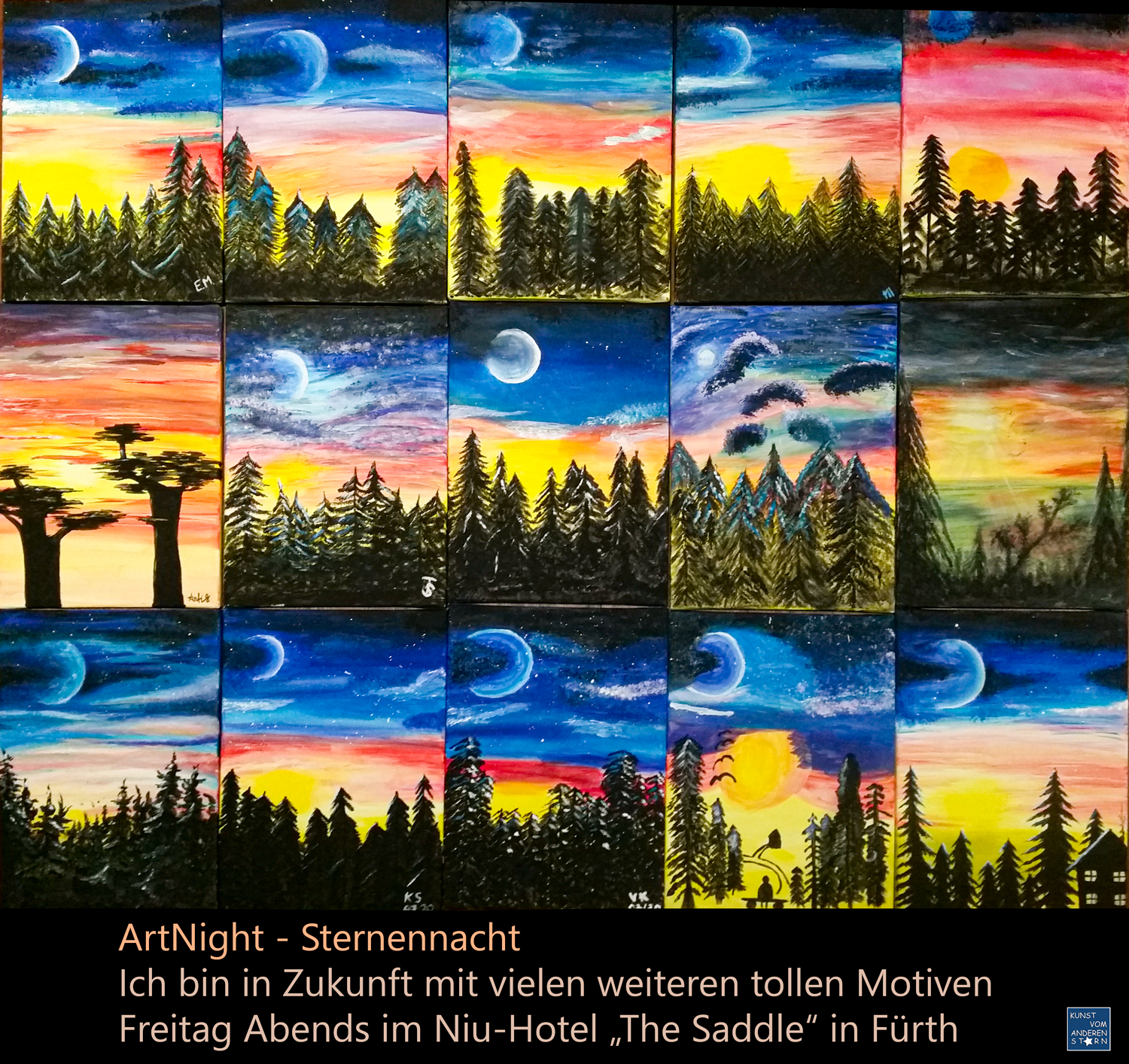 ArtNight – Sternennacht – 30.07.2020