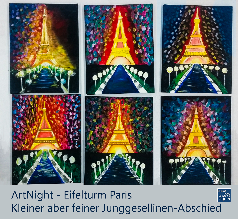ArtNight – Eifelturm – 15.08.2020 – Junggesellinenabschied