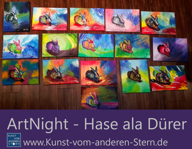 ArtNight – Hase nach Dürer interpretiert – 21.08.2020