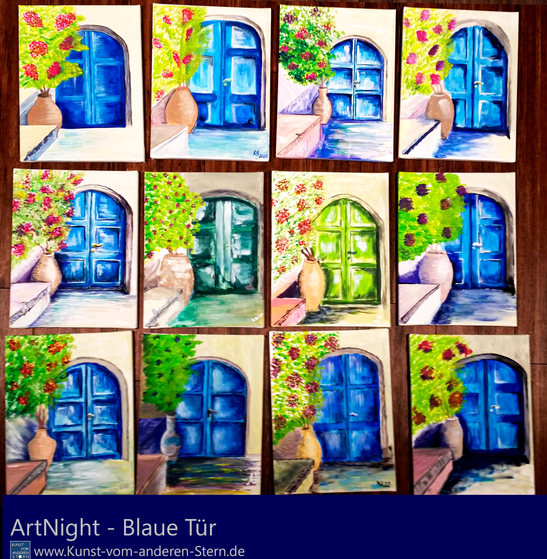 ArtNight – Blaue Tür – 11.09.2020