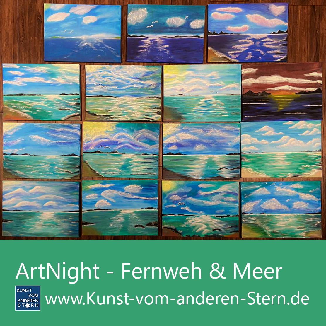 ArtNight – Fernweh und Meer – 18.09.2020