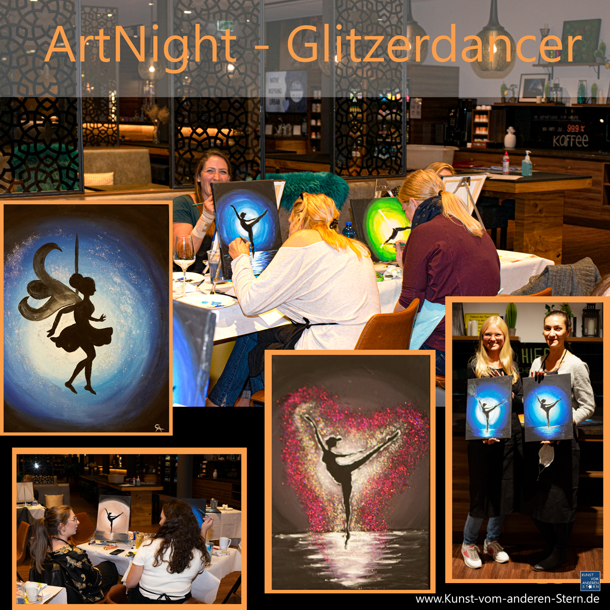ArtNight – Glitzer-Dancer – 02.10.2020